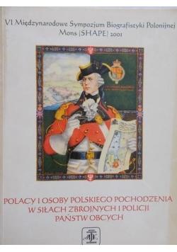 Polacy i osoby polskiego pochodzenia w siłach zbrojnych i policji państw obcych
