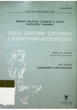 Zarys anatomii człowieka z elementami antropologii