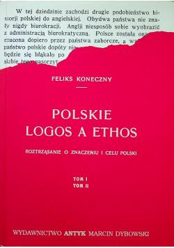 Polskie Logos a Ethos Tom 1 i 2 reprint z 1921 r.
