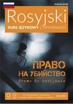 Rosyjski Kurs językowy z kryminałem plus płyta CD