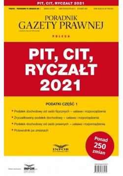PIT, CIT, Ryczałt 2021. Podatki 1/2021