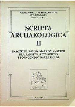 Scripta archaeologica II