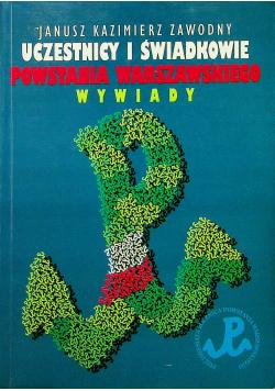 Uczestnicy i świadkowie Powstania Warszawskiego Wywiady
