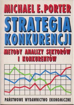 Strategia konkurencyjna Metody analizy sektorów i konkurentów