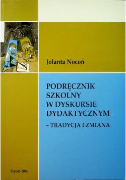 Podręcznik szkolny w dyskursie dydaktycznym