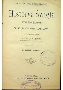 Historya Święta Tom II 1904 r