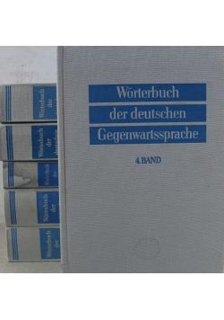 Worterbuch der deutschen Gegenwartssprache Tom od I do VI