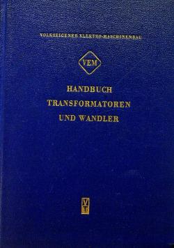 handbuch transformatoren und wandler