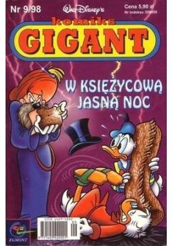 Komiks Gigant W księżycową jasną noc