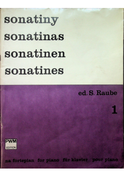 Sonatiny na fortepian 1