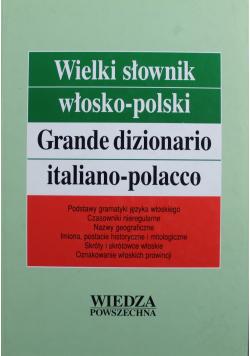 Wielki słownik włosko polski