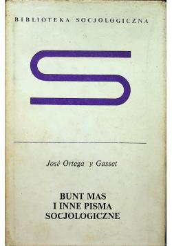 Bunt mas i inne pisma socjologiczne