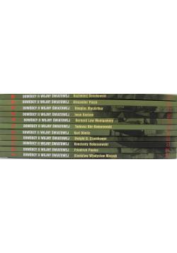Dowódcy II wojny światowej 11 Tomów