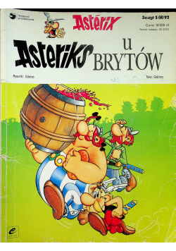 Asterix Asteriks u Brytów Zeszyt 5