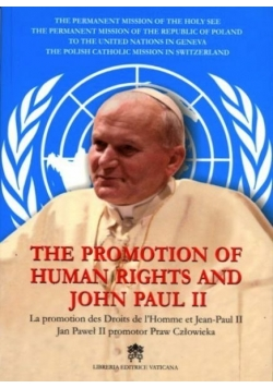 The promotion of human rights and Jon Paul 2