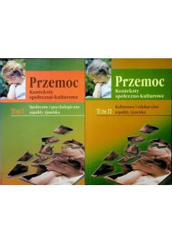 Przemoc Konteksty społeczno kulturowe 2 tomy