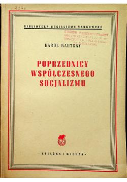 Poprzednicy współczesnego socjalizmu1949 r