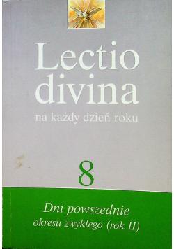 Lectio divina na każdy dzień roku  8 dni powszedni