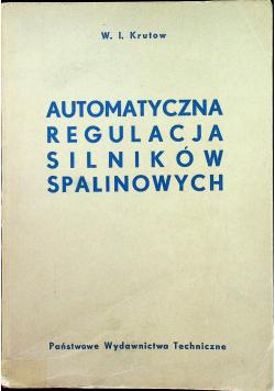 Automatyczna Regulacja Silników Spalinowych