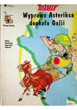 Asterix Wyprawa Asteriksa dookoła Galii Zeszyt 1
