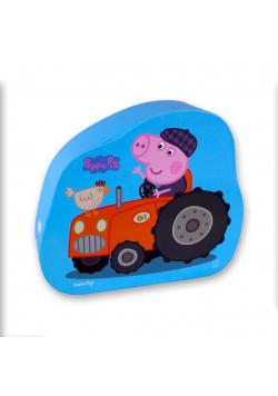 Puzzle dla dzieci w ozdobnym pudełku Farmer George