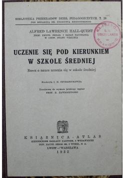 Wolność nauki oraz nowoczesnego życia umysłowego  1930 r.