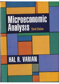 Exercises and  applications microeconomic analysis third edition