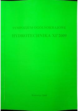 Sympozjum ogólnokrajowe Hydrotechnika XI 2009
