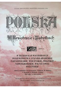 Polska w krajobrazie i zabytkach tom II  reprint z 1931 r.