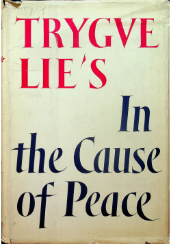 In the Cause of Peace