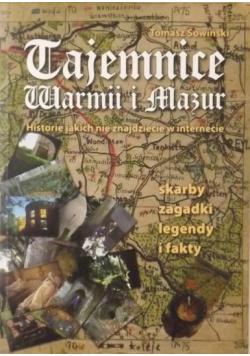 Tajemnice Warmii i Mazur plus autograf Sowińskiego