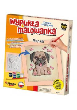 Wypukła Malowanka - Mały Mopsik