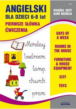 Angielski dla dzieci 6-8 lat Zeszyt 4