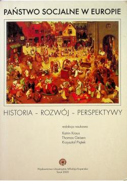 Państwo socjalne w Europie Historia Rozwój Perspektywy