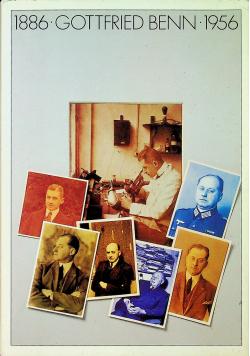 Gottfried benn 1886 1956