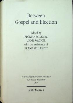 Between Gospel and Election Wunt 257