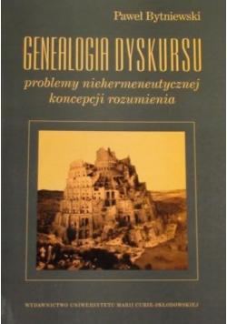 Genealogia dyskursu