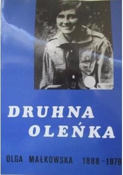 Druhna Oleńka Olga Małkowska 1888 1979