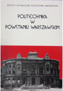 Politechnika w Powstaniu Warszawskim