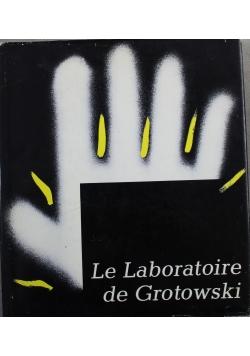 Le laboratoire de Grotowski
