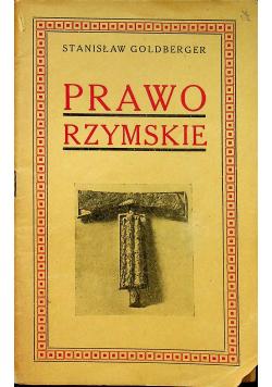 Prawo rzymskie 1934