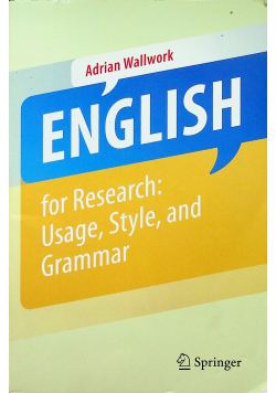 English for Academic Research usage style