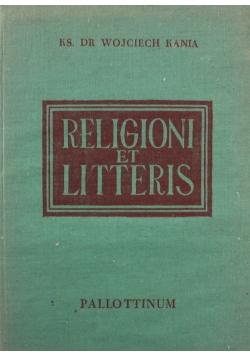 Religion et litteris wstępna nauka łaciny kościelnej
