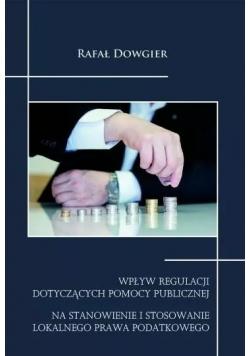 Wpływ regulacji dotyczących pomocy publicznej