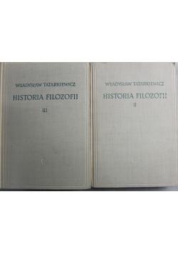 Historia filozofii tomy  II i III