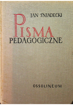 Pisma pedagogiczne