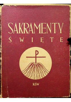 Sakramenty Święte 8 książek