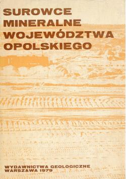 Surowce mineralne województwa opolskiego