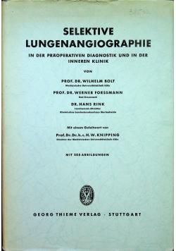 Selektive Lungenangiographie