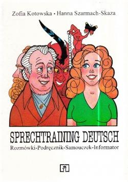 Sprechtraining Deutsch Rozmówki Podręcznik Samouczek Informator